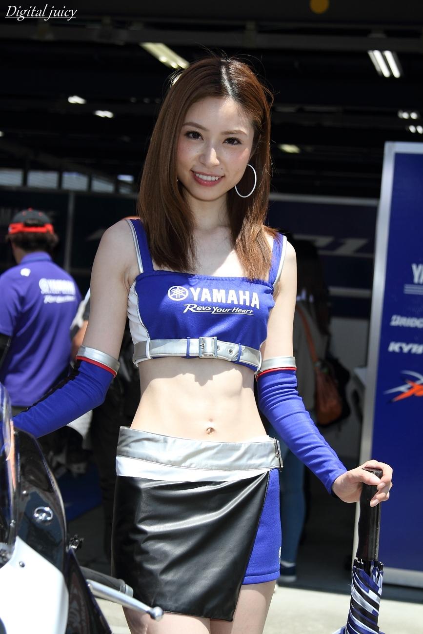 佐々木麻美 さん(YAMAHA RACING LADY)_c0216181_2021485.jpg