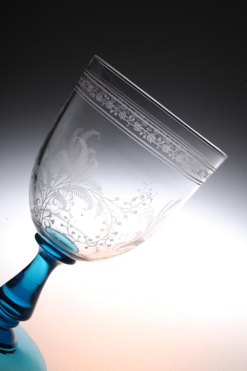 """Baccarat Blue stem \""""Fougeres\""""_c0108595_082788.jpg"""