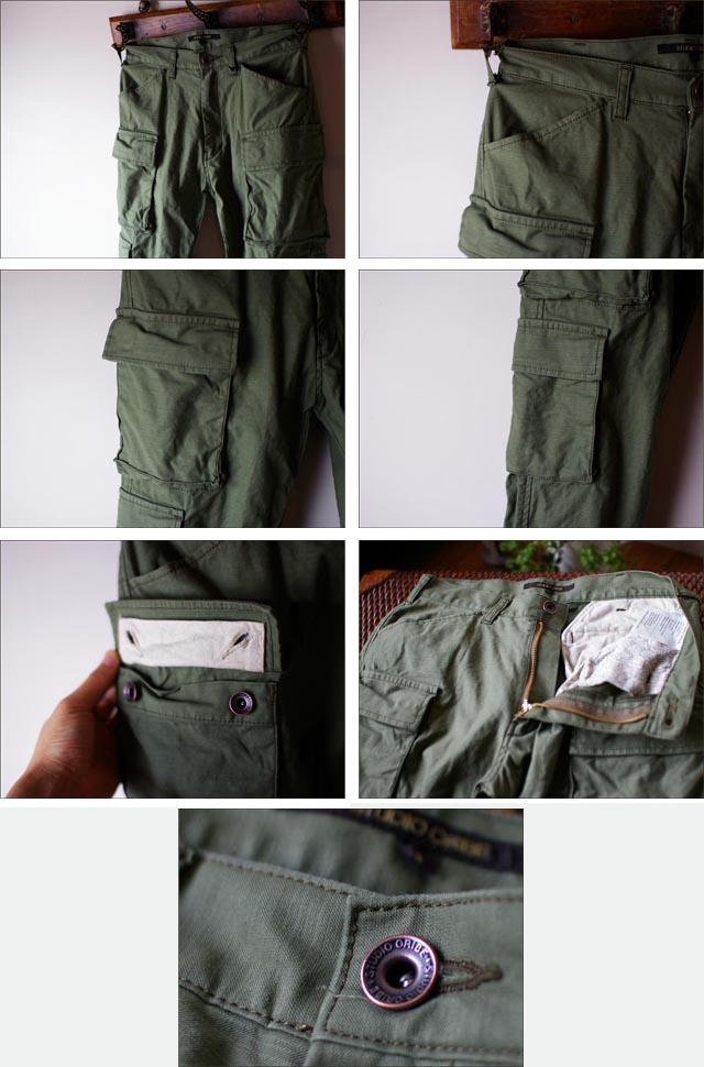 【再入荷】STUDIO ORIBE [スタジオオリベ] 8 POCKET PANTS [MEN\'S]_f0051306_16315757.jpg