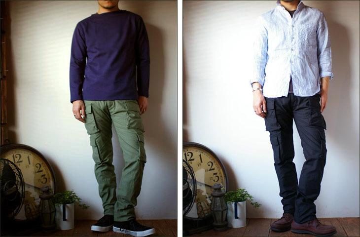 【再入荷】STUDIO ORIBE [スタジオオリベ] 8 POCKET PANTS [MEN\'S]_f0051306_16315828.jpg
