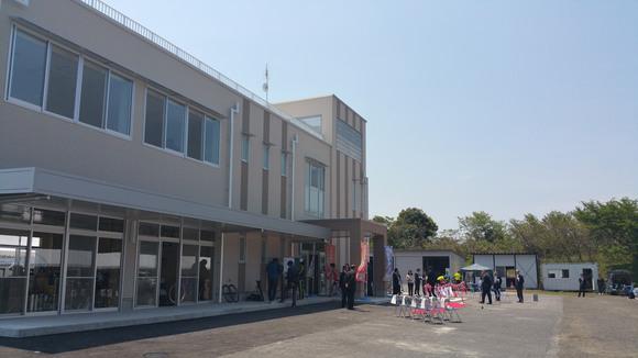 倉吉自転車競技場竣工式_b0253614_18485778.jpg