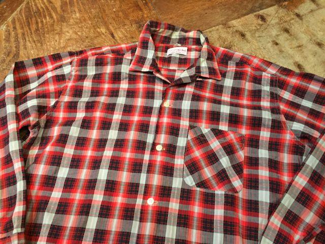 ゴールデンウィーク入荷! 第7弾!!60s Dan river fabric ボックスシャツ!_c0144020_1644143.jpg