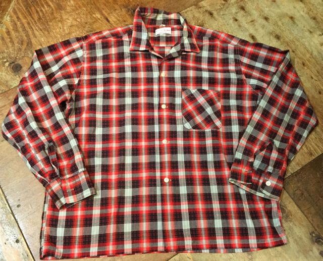 ゴールデンウィーク入荷! 第7弾!!60s Dan river fabric ボックスシャツ!_c0144020_16442542.jpg