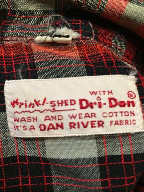 ゴールデンウィーク入荷! 第7弾!!60s Dan river fabric ボックスシャツ!_c0144020_1644599.jpg