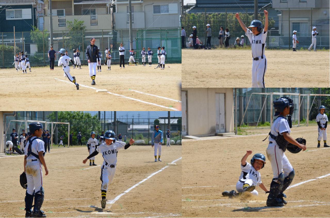 Bチーム 5/4(水祝) 奈良東ロータリークラブ杯 順位決定戦_b0296154_928266.jpg