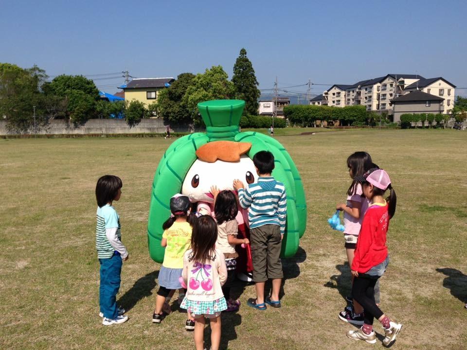 ちま吉くん、熊本で炊き出し。       _b0215856_14182760.jpg