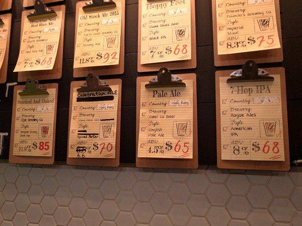 香港クラフトビア・ツアー <その3> HK BREW CRAFT / Beer & Fish / TIPPNG POINT_e0152073_0223226.jpg
