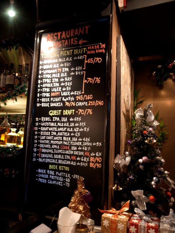 香港クラフトビア・ツアー <その3> HK BREW CRAFT / Beer & Fish / TIPPNG POINT_e0152073_0245271.jpg