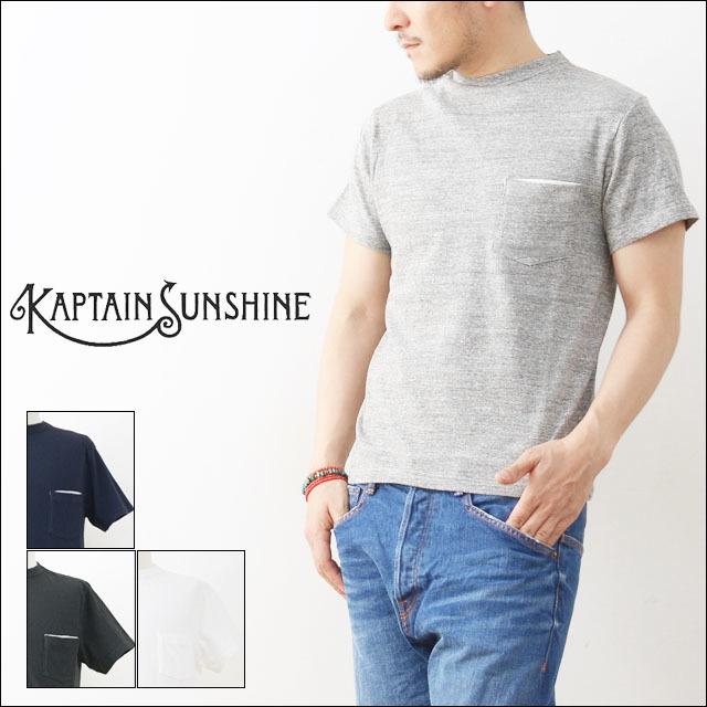 KAPTAIN SUNSHINE [キャプテンサンシャイン] BASIC POCKET TEE [KS6SCS03]  MEN\'S_f0051306_17105020.jpg
