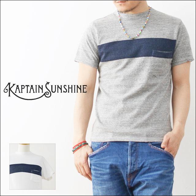 KAPTAIN SUNSHINE [キャプテンサンシャイン] WEST COAST TEE [KS6SCS04]  MEN\'S_f0051306_17132535.jpg