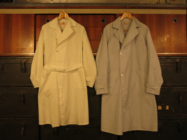 """SOURCE-TAP × TheThreeRobbers MEDICAL COAT\""ってこんなこと。_c0140560_10435155.jpg"