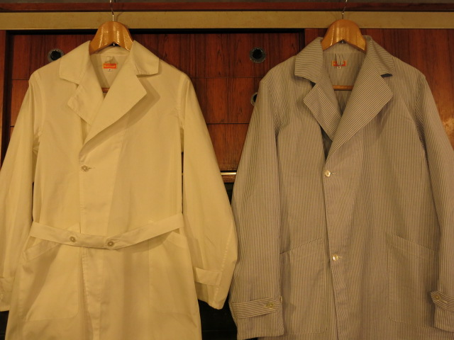 """SOURCE-TAP × TheThreeRobbers MEDICAL COAT\""ってこんなこと。_c0140560_10444021.jpg"