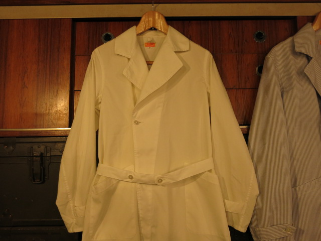 """SOURCE-TAP × TheThreeRobbers MEDICAL COAT\""ってこんなこと。_c0140560_10445428.jpg"