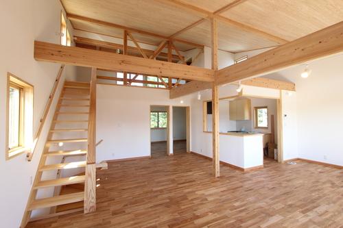 栄町公園の家:2階床下暖冷房概念図_e0054299_16263696.jpg