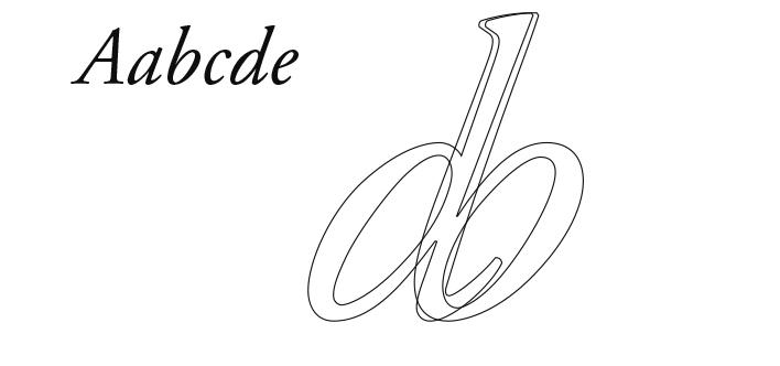 イタリック体の文字の微妙な傾き_e0175918_15391783.jpg