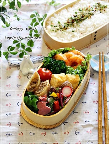 エビチリ弁当と常備菜作り♪_f0348032_17542648.jpg