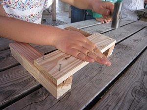 ウッドビレッジ「県産材の杉を使ってベンチを作ろう!」_c0141652_11363824.jpg