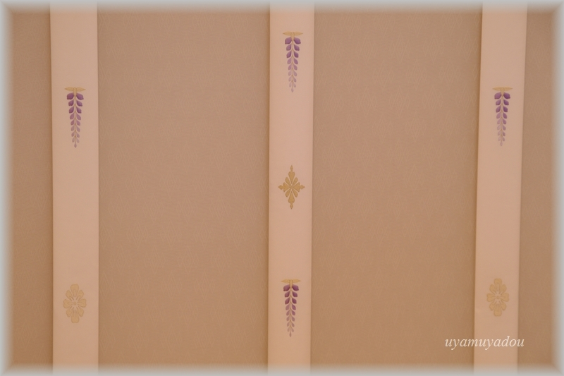 京都迎賓館・参観 [ 藤の間 ]#2_a0157263_18555531.jpg