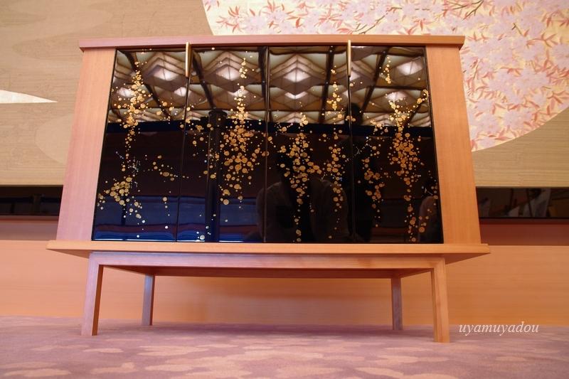 京都迎賓館・参観 [ 藤の間 ]#2_a0157263_18555616.jpg