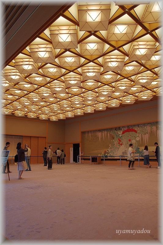 京都迎賓館・参観 [ 藤の間 ]#1_a0157263_18560632.jpg
