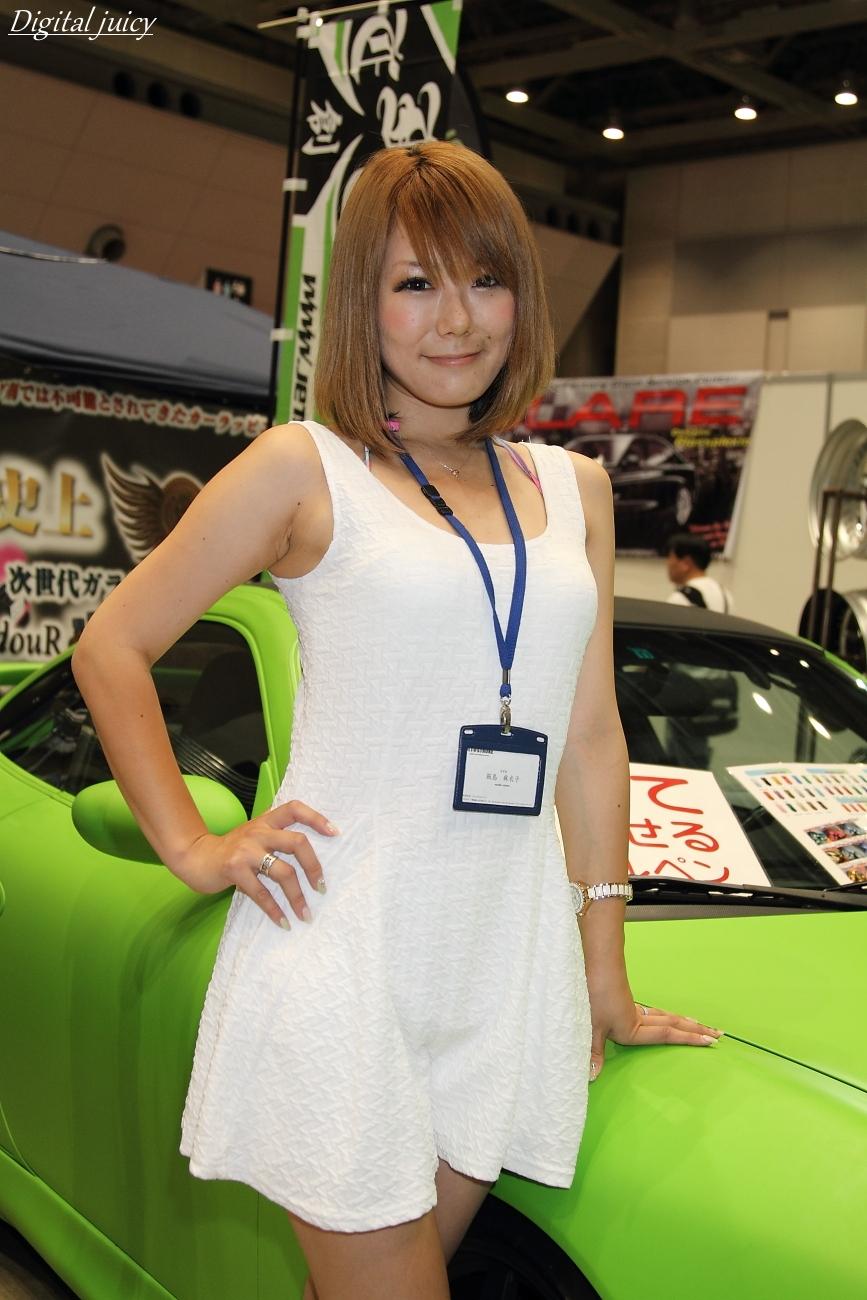 飯島麻衣子 さん(JET STROKE ブース)_c0216181_22311655.jpg