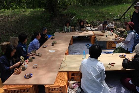 竹かご(四海波)作りワークショップ_d0184405_19144321.jpg