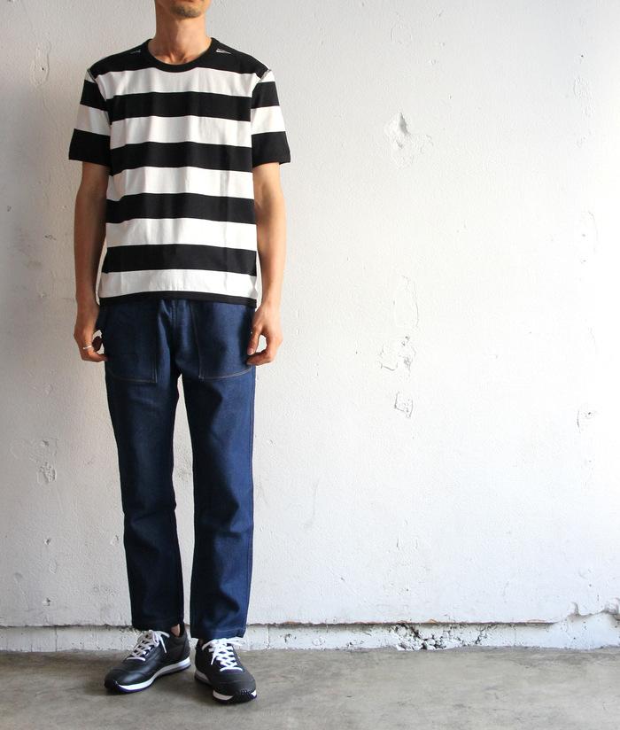 Perfect Inner Wide Border Crew T-shirt_e0142928_11111779.jpg