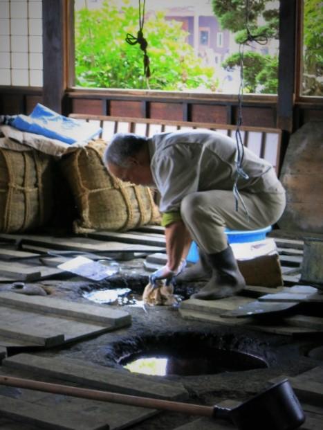 初めての「益子 春の陶器市」②日下田藍染工房~_f0236260_14592350.jpg