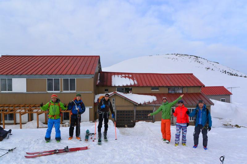 黒部源流域 スキー マウンテニアリング ツアー 高天原温泉編_d0110562_23534370.jpg