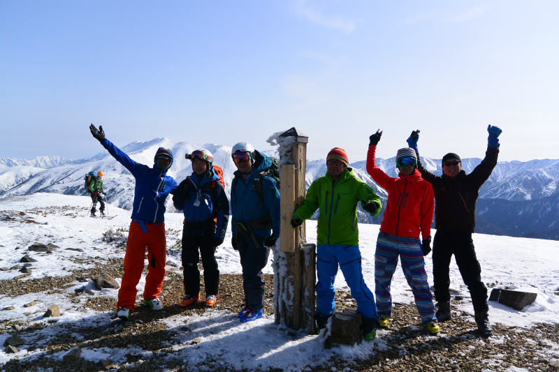 黒部源流域 スキー マウンテニアリング ツアー 高天原温泉編_d0110562_23535027.jpg