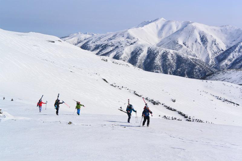 黒部源流域 スキー マウンテニアリング ツアー 高天原温泉編_d0110562_23535908.jpg