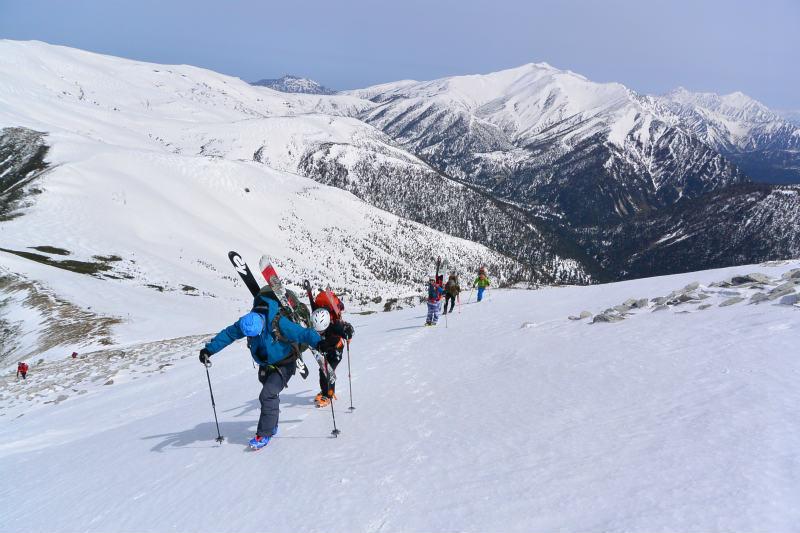 黒部源流域 スキー マウンテニアリング ツアー 高天原温泉編_d0110562_23540209.jpg