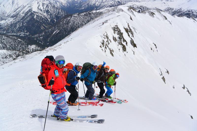 黒部源流域 スキー マウンテニアリング ツアー 高天原温泉編_d0110562_23541201.jpg