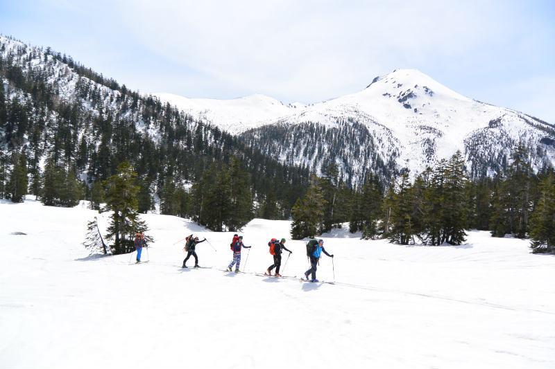 黒部源流域 スキー マウンテニアリング ツアー 高天原温泉編_d0110562_23542344.jpg