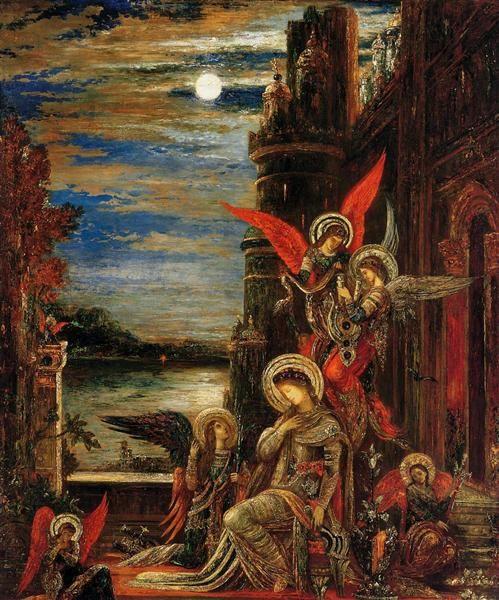 ギュスターヴ・モローの「聖セシリア」たち_c0084183_14562277.jpg