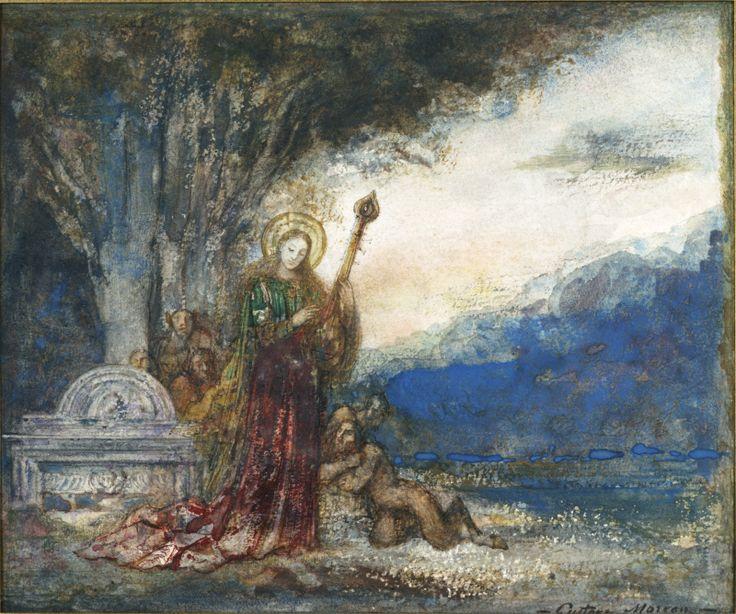 ギュスターヴ・モローの「聖セシリア」たち_c0084183_15181273.jpg