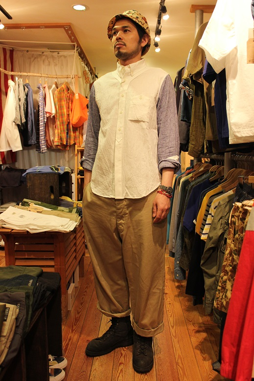 "Jackman \""Baseball Shirt & Socks\"" ご紹介_f0191324_9342138.jpg"