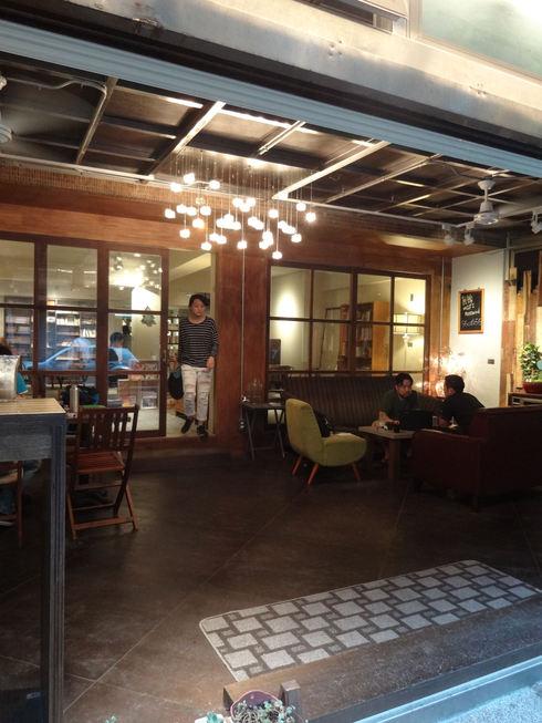 台北旅行記 その3 台北の素敵カフェ「515 CAFE & BOOKS」_f0054260_17313844.jpg