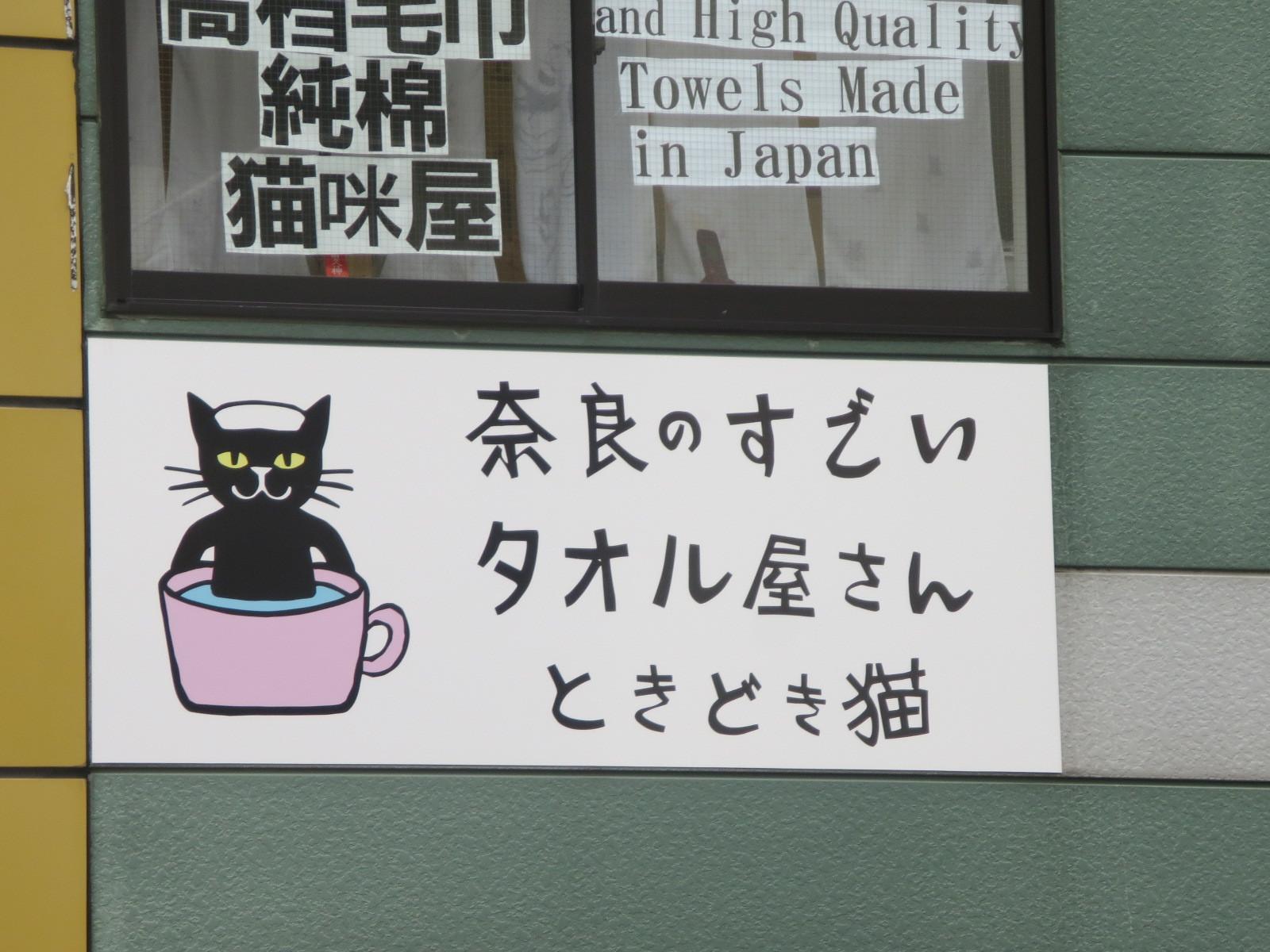 黒猫とタオルと串カツ_c0001670_21094232.jpg