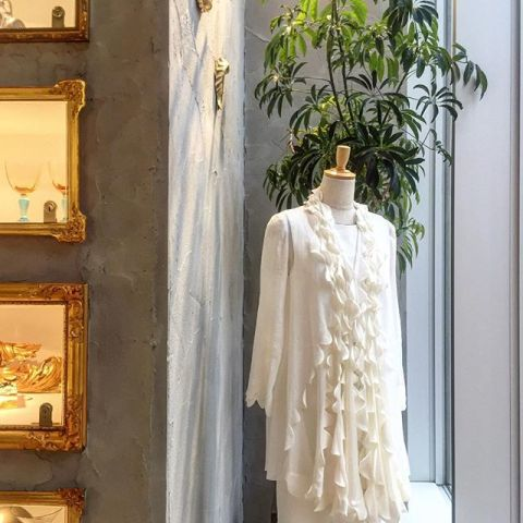 ☆haori de TiTi 初夏にふさわしいリネンのジャケット_a0138976_1801866.jpg