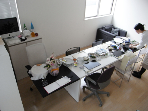 家具~栃の無垢板のデスクテーブル_f0348078_09274248.jpg