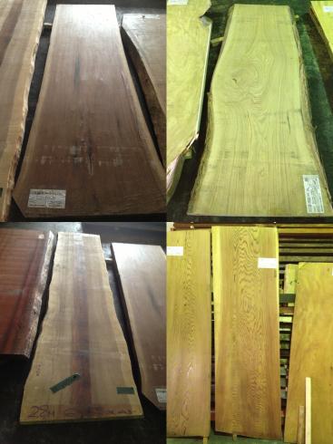 家具~栃の無垢板のデスクテーブル_f0348078_09293249.jpg