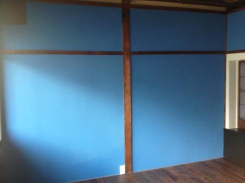 左官〜群青色の壁_f0348078_10274222.jpg