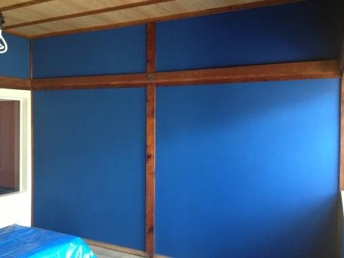 左官〜群青色の壁_f0348078_10274385.jpg