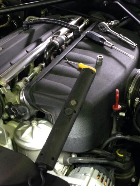 BMW Z4 オルタネーター修理_e0169210_18422639.jpg