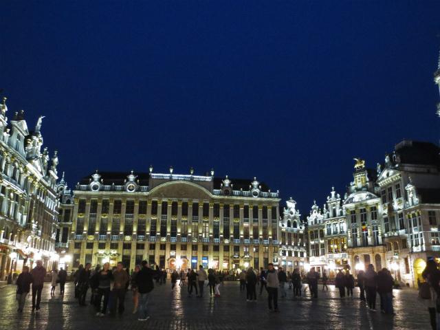 ブリュッセルへ19 グラン・プラス_b0064411_06020740.jpg