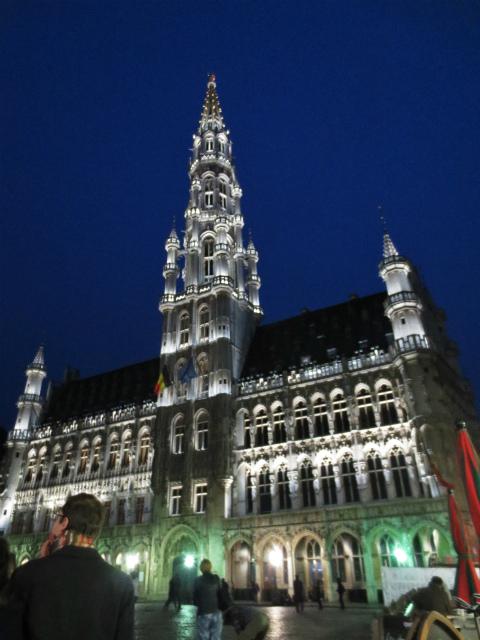 ブリュッセルへ19 グラン・プラス_b0064411_06020771.jpg