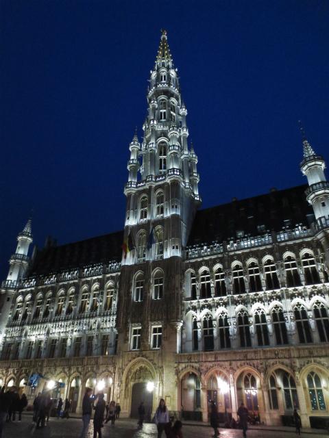 ブリュッセルへ19 グラン・プラス_b0064411_06020776.jpg