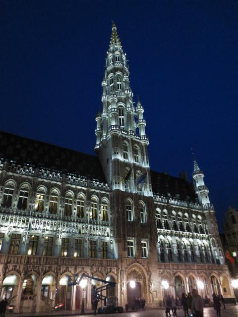 ブリュッセルへ19 グラン・プラス_b0064411_06051222.jpg