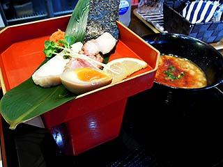 かみあり製麺@出雲 ★★ (あん肝つけ麺・期間限定)_f0080612_2022327.jpg